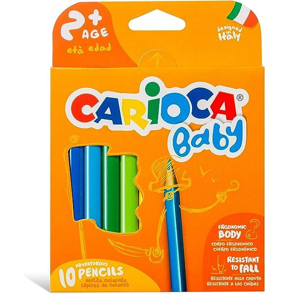 Carioca Jumbo Bebek Elleri Kirletmeyen Pastel Boya Kalemi 8 Li 2