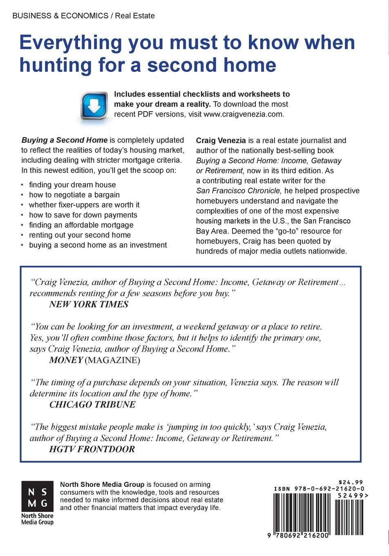 Workbooks home ec worksheets : Buying a Second Home: Income, Getaway or Retirement: Craig Venezia ...