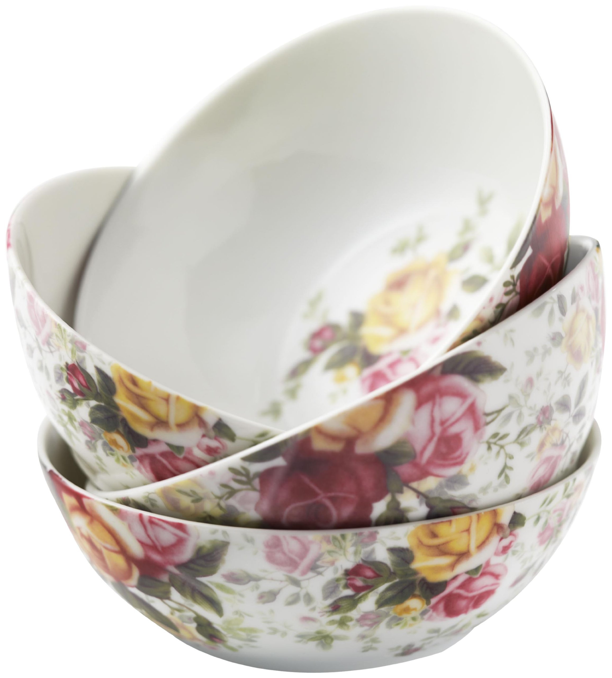 Royal Albert Country Rose Chintz All-Purpose Bowls, Set of 4