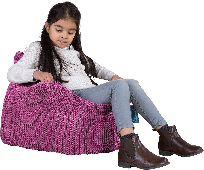 Sillón para niños, Pompón - Rosa