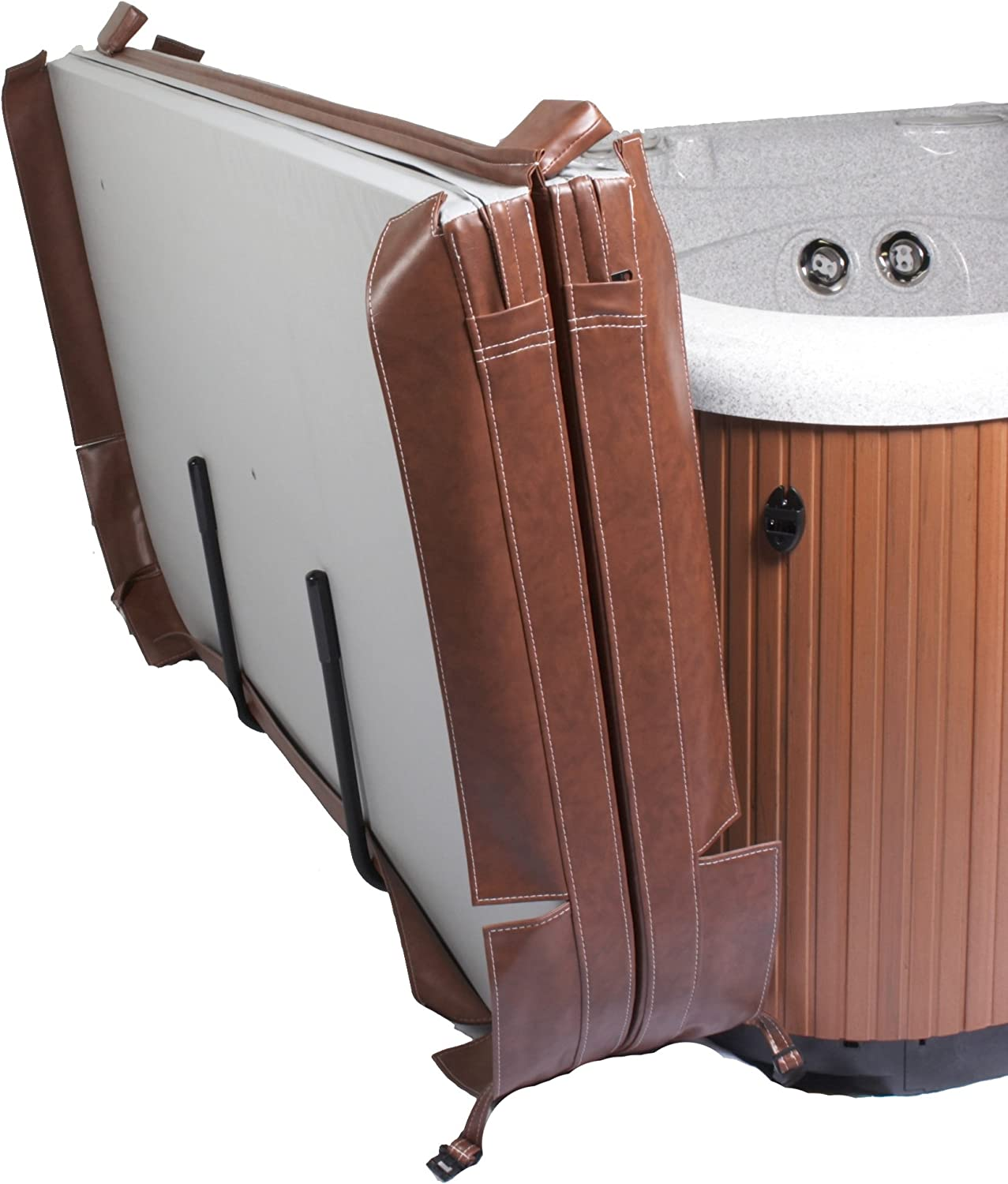 Cover Valet NP509 Spa Cover Lift and Caddy,Black: Garden & Outdoor