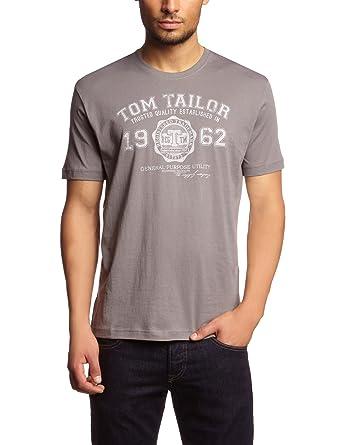059fbe0b2c6c5d TOM TAILOR Herren T-Shirt 10235490910 New NOS Logo T-Shirt 1 2