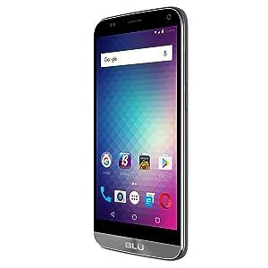 "BLU Dash XL Unlocked U.S. GSM 5.5"" Quad-Core Android Smartphone Phone - Gray"
