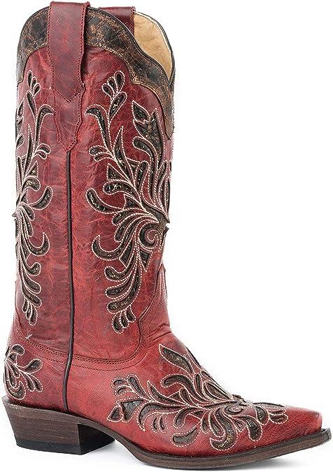 Stetson Women/'s Loyal Western Boot