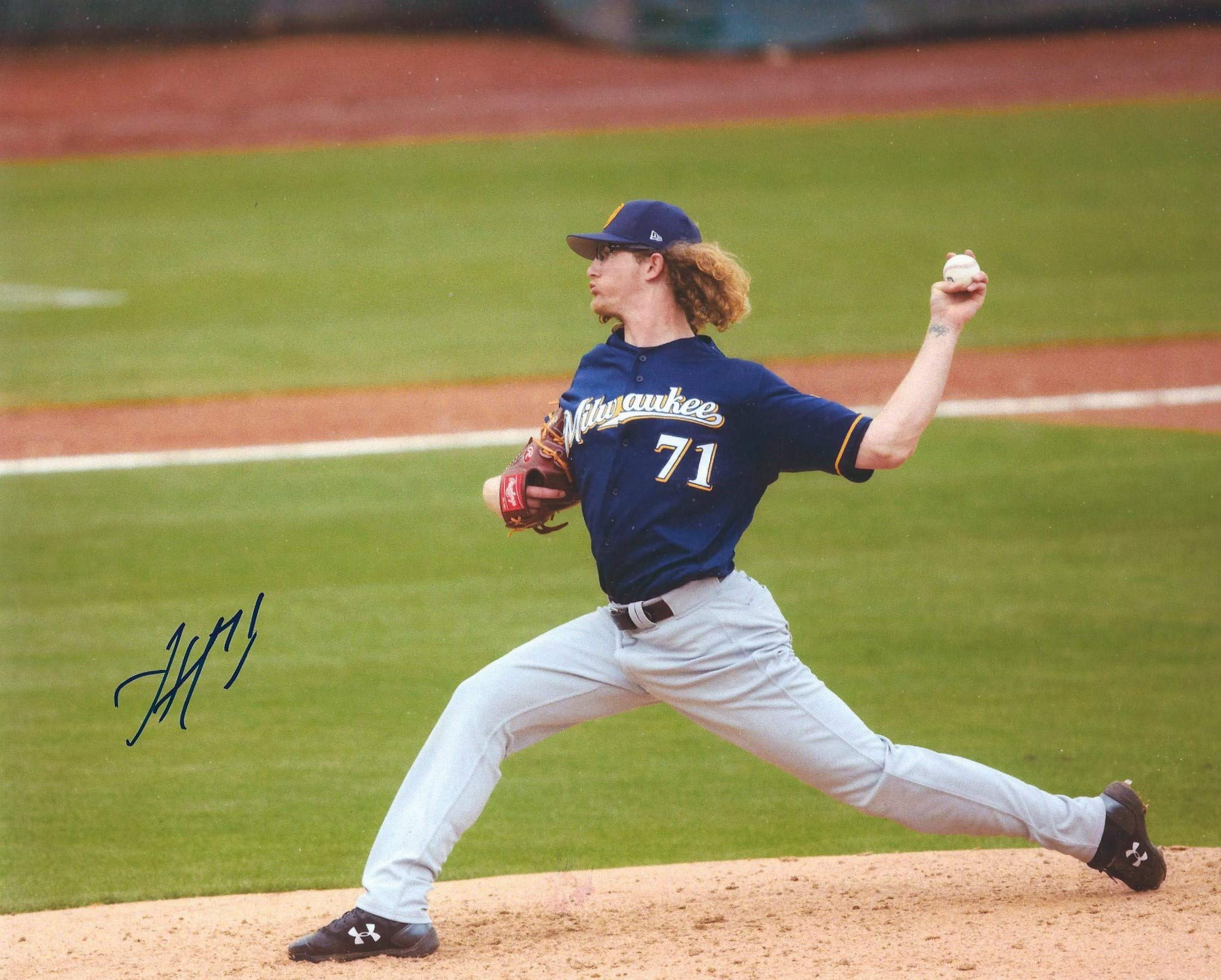 Autographed Josh Hader 8x10 Milwaukee Brewers Photo