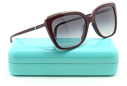 a6ac9c7f1c15 Amazon.com  Tiffany   Co. TF 4135-B-F Women Square Asian Fit Sunglasses  (Grey Gradient 81813C