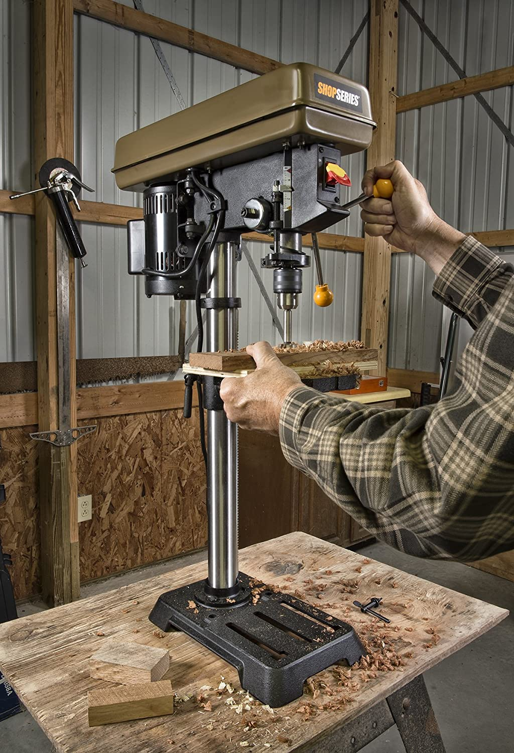 ShopSeries RK7033 6.2-Amp 10 Drill Press Rockwell