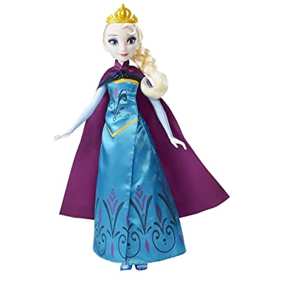 Disney Frozen Royal Reveal Elsa Doll: Toys & Games