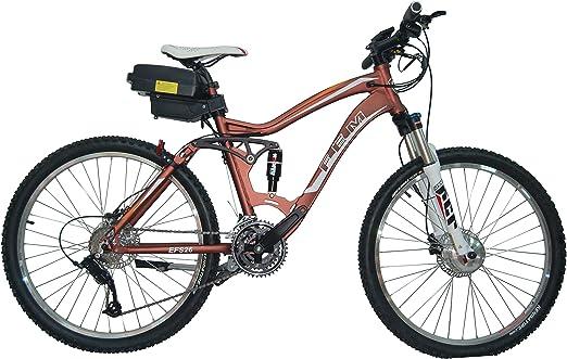 FEM Bicicleta Eléctrica de Montaña (Negro mate): Amazon.es ...