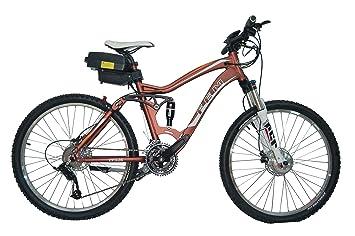 FEM Bicicleta Eléctrica de Montaña (Negro mate)