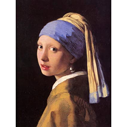 amazon com johannes vermeer girl with pearl earring old master art