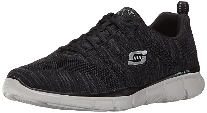 SKECHERS - Equalizer Mental Clarity 51387 - black gray, (grau/schwarz), 42.5