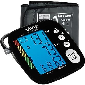 #20 Blood Pressure Monitor by Vive Precision - Automatic Digital Upper Arm Cuff - Accurate, Portable
