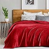 Sedona House Flannel Fleece Blanket 280GSM Luxury Microfiber Flannel Super Soft Warm Fuzzy Cozy Lightweight Blanket for…