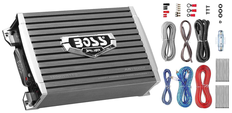 Amazon.com: Boss Audio Systems AR1500MK 1500W Monoblock Amplifier, 8 ...