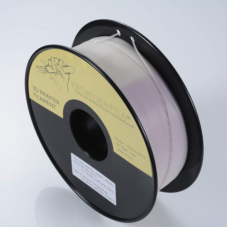 UV reactivo PLA 1.75mm 1kg - Filamento para impresora 3D ...