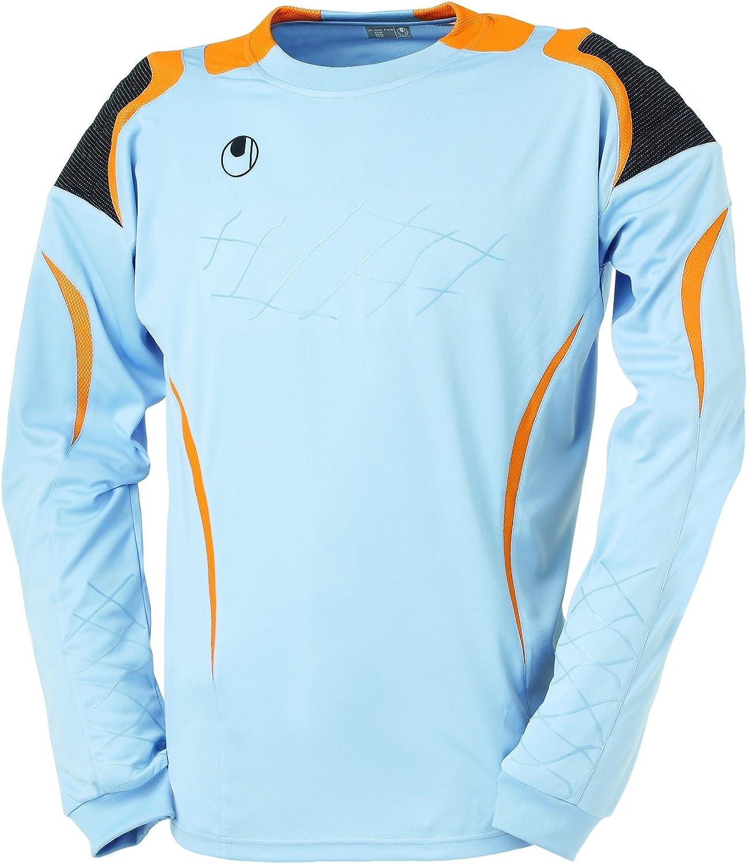 uhlsport - Camiseta de Portero para Hombre Azul Storm/Orange Talla:Medium: Amazon.es: Ropa y accesorios