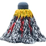 Uniclife Aquarium Volcano Ornament bubbler Kit Fish Tank Decorations with Air Stone, Small