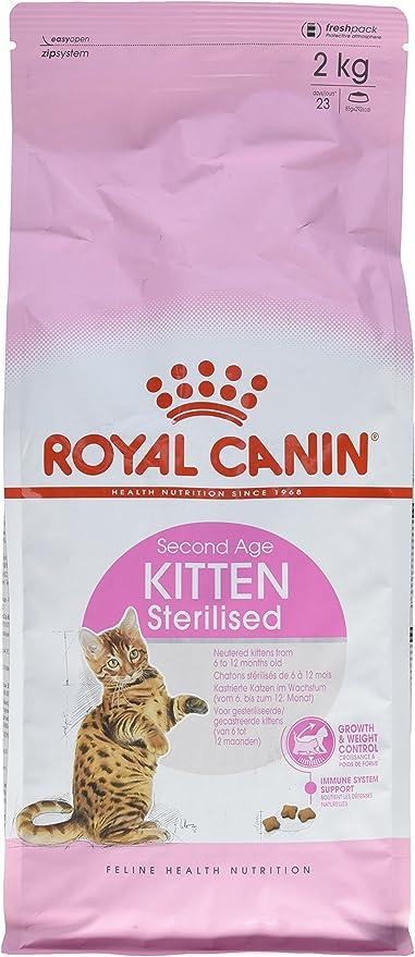 Royal Canin C-58429 Gato Sterilised - 2 Kg: Amazon.es: Productos ...