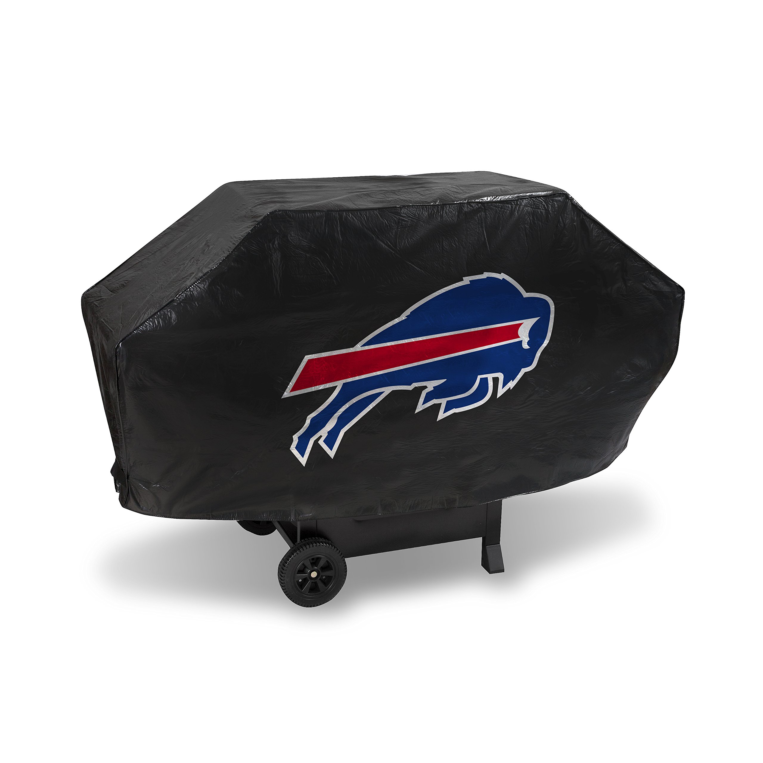 NFL Buffalo Bills Vinyl Padded Deluxe Grill Cover