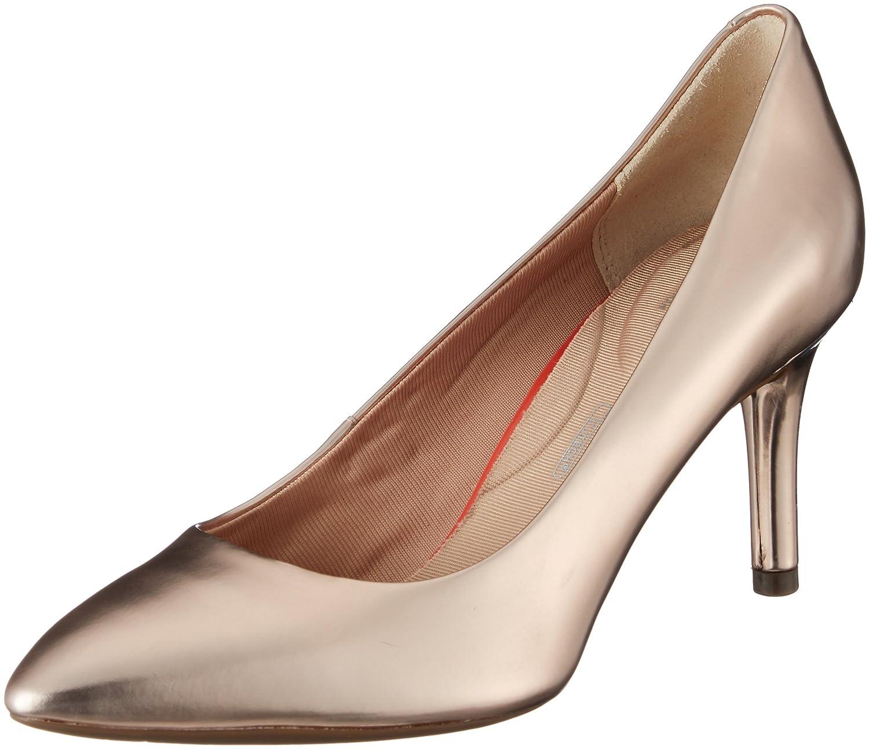 TALLA 38 EU. Rockport Total Motion Plain Pump, Zapatos de tacón con Punta Cerrada para Mujer