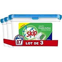 Skip Lessive Capsules Duo Fraîcheur Intense 29 Lavages - Pack de 3