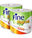 FINE Mega Roll Hand Towel 325m - Pack of 2