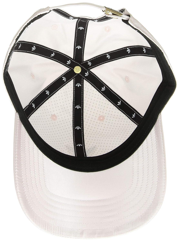 dab4e2847965f Amazon.com  adidas Women s Originals Satin Relaxed Adjustable Strapback Cap