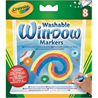 Crayola 8 Washable Window Markers For Kids