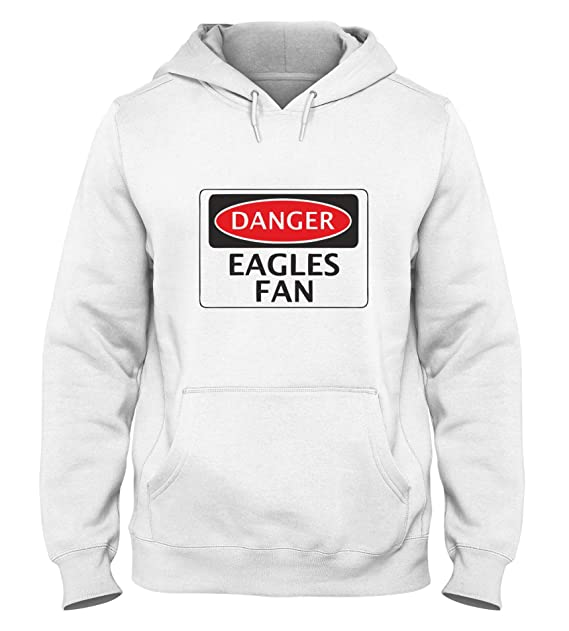 Sudadera con Capucha para Hombre Blanca WC0289 Danger Crystal Palace Eagles Fan Football: Amazon.es: Ropa y accesorios