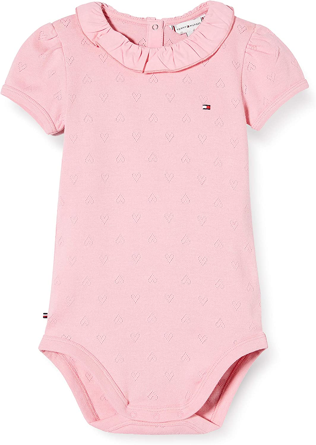 Tommy Hilfiger Baby Girl Ruffle Collar Body S/S Bebés