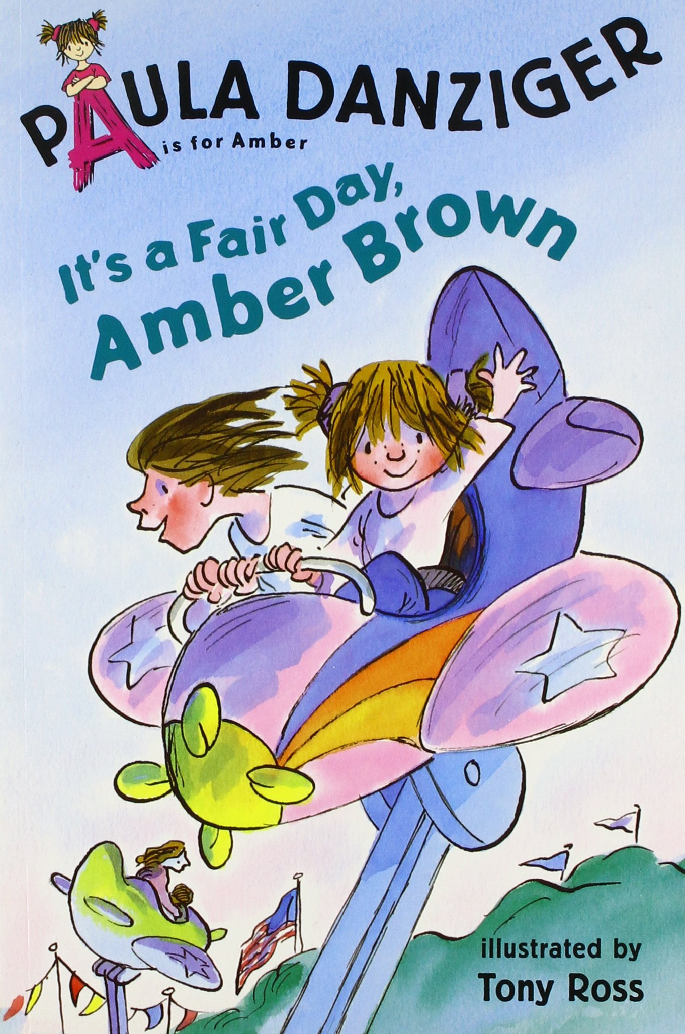 Download It's a Fair Day Amber Brown (4 Paperback/1 CD) (A is for Amber; Easy-To-Read) PDF