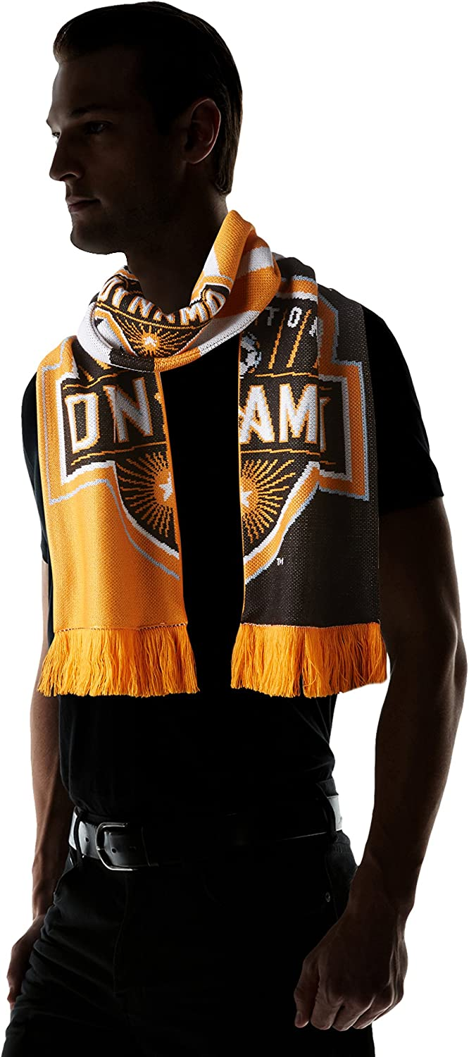 adidas MLS Unisex-Adult MLS SP17 Fan Wear Jacquard Scarf w//Fringe