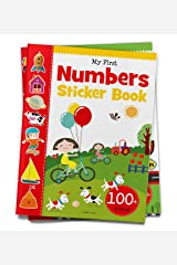 My First Numbers Sticker Book: Exciting Sticker Book With 100 Stickers Paperback