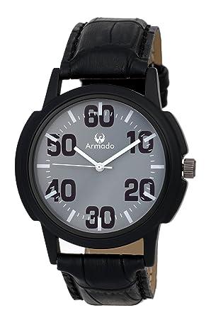 Armado Analogue Grey Dial Men's Watch - AR-017