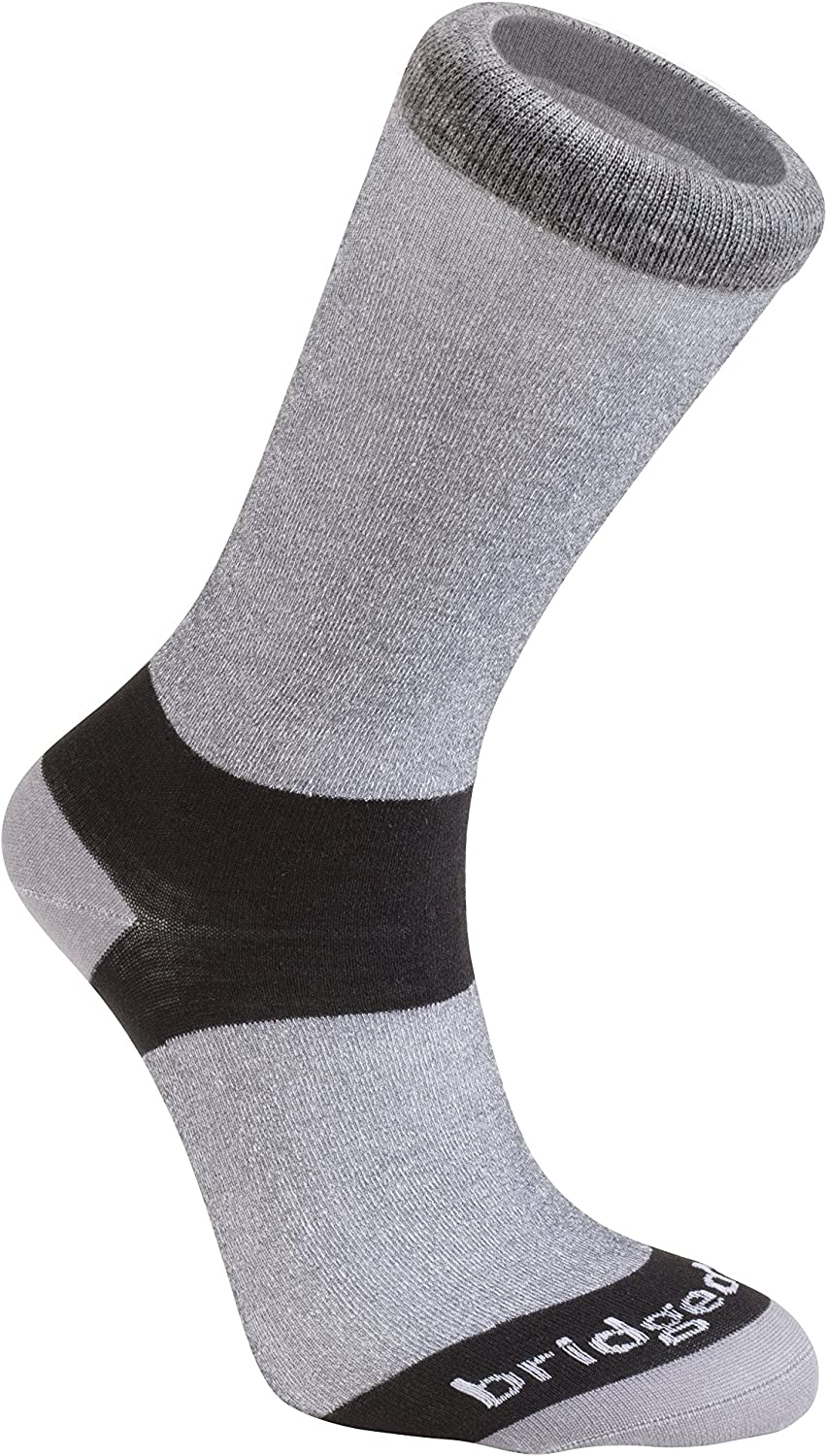 Bridgedale mens Coolmax Base Layer Liner Socks - 2 Pack