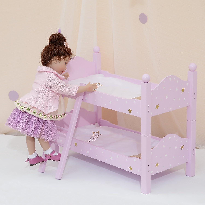 Marvelous Olivias Little World 18 Doll Furniture Twinkle Stars Bunk Bed Purple 20 X 10 625 X 17 125 Spiritservingveterans Wood Chair Design Ideas Spiritservingveteransorg