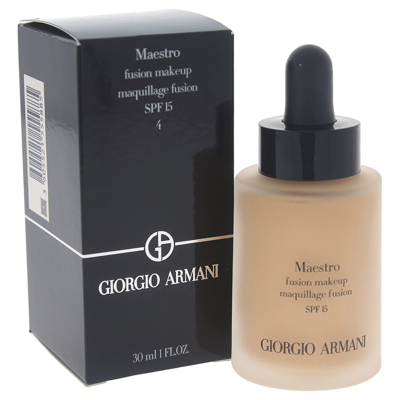 Giorgio Armani Maestro SPF 15 Fusion Makeup for Women, Light/Warm, 1 Ounce