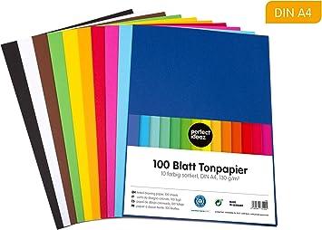 100/Blatt Premier Stationery lasercol A4/80/gsm Papier/ /Pastell Rainbow Pack