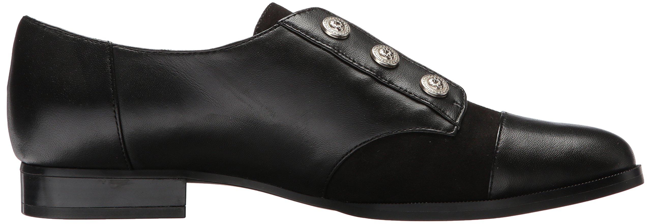 Nine West Women's Here Leather Uniform Dress Shoe, Black/Multi Leather, 5 M US by Nine West (Image #7)