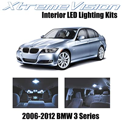 Xtremevision Interior LED for BMW 3 Series E90 E92 M3 2006-2012 (18 Pieces) Cool White Interior LED Kit + Installation Tool: Automotive