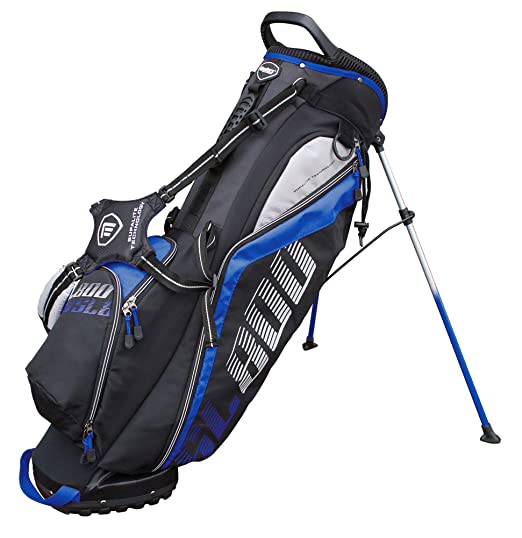 Masters Golf - SL800 Supalite Stand Bag Black/Blue: Amazon ...