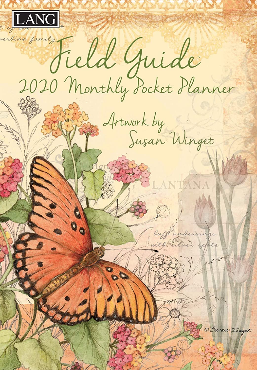 Lang Field Guide 2020 Monthly Planner (20991012118)