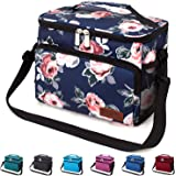 Leakproof Reusable Insulated Cooler Lunch Bag - Office Work Picnic Hiking Beach Lunch Box Organizer with Adjustable…
