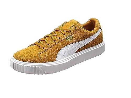 buy online a22c7 d78d4 Puma Mens Buckthorn Brown Breaker Suede Trainers: Amazon.co ...