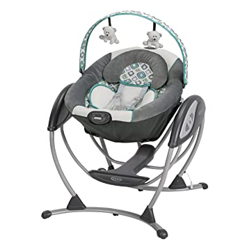 Amazon.com: Graco Glider LX Columpio deslizante, Affinia: Baby