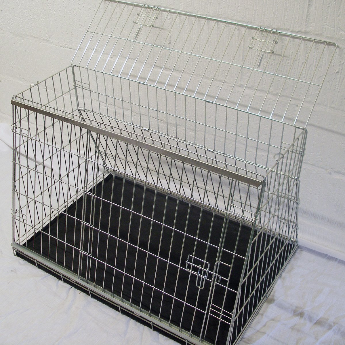 AUDI Q5 2008 ONWARDS SUV DOG CAGE SLOPED FRONT GUARD PUPPY CRATE CARRIER