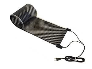 """RHS Propagation Heat Mat, Spill Proof Seedling Pad, Heated Film Technology, Plant Germination Heating System, Durable Made in USA, Seed Starter 11"""" x 60"""" inches, Grow Beautiful Plants"""