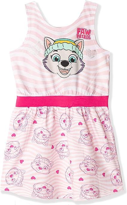 Coole-Fun-T-Shirts Paw Patrol Leggings Grey and Pink Girls Trousers Glitter Skye Everest Leggings Set 3 4 5 6 7 8 9 10 Years Size 98 104 110 116 128