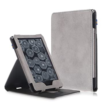 MOKASE - Funda para Kindle 10th Gen,2019 con luz Delantera ...